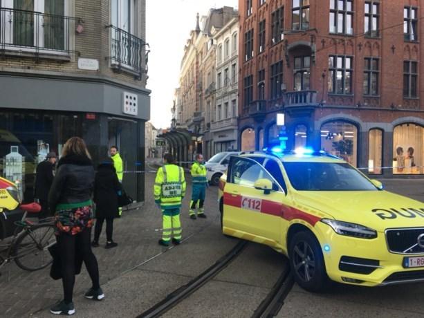 Deel van stadscentrum Gent voor tweede keer vandaag afgesloten door gasgeur