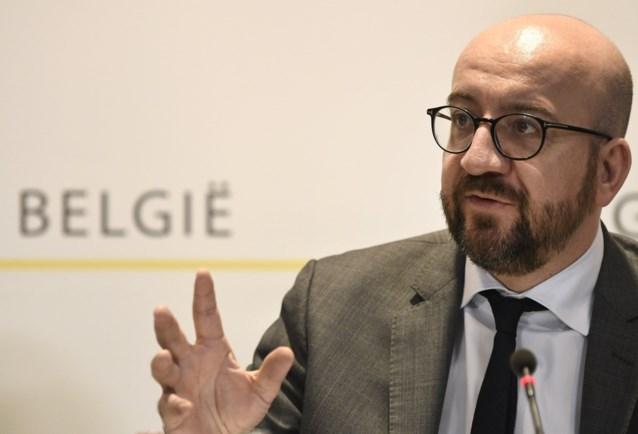 Charles Michel zal Olivier Chastel vervangen en wordt opnieuw MR-voorzitter