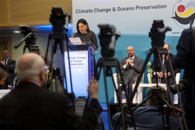 """Klimaatconferentie in Brussel even verstoord door protest: """"Noodtoestand voor het klimaat"""""""