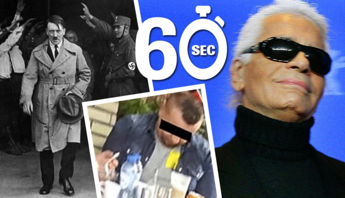 Mee in één minuut: Karl Lagerfeld is dood, nog altijd Belgen met 'Hitler-pensioen' en steekpartij in Antwerpen