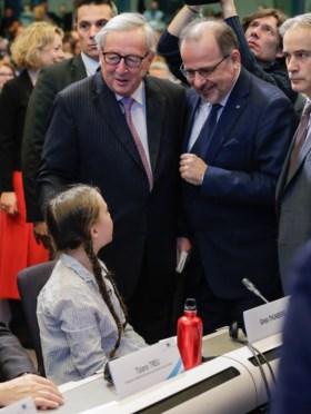"""Greta Thunberg spreekt Europese Commissie toe in Brussel: """"Volg de wetenschap, dat is onze enige eis"""""""