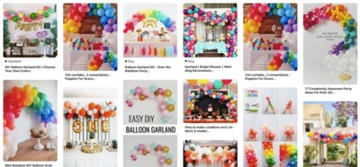 DE PINTEREST-TEST: hoe maak je zo'n indrukwekkende ballonnenslinger?