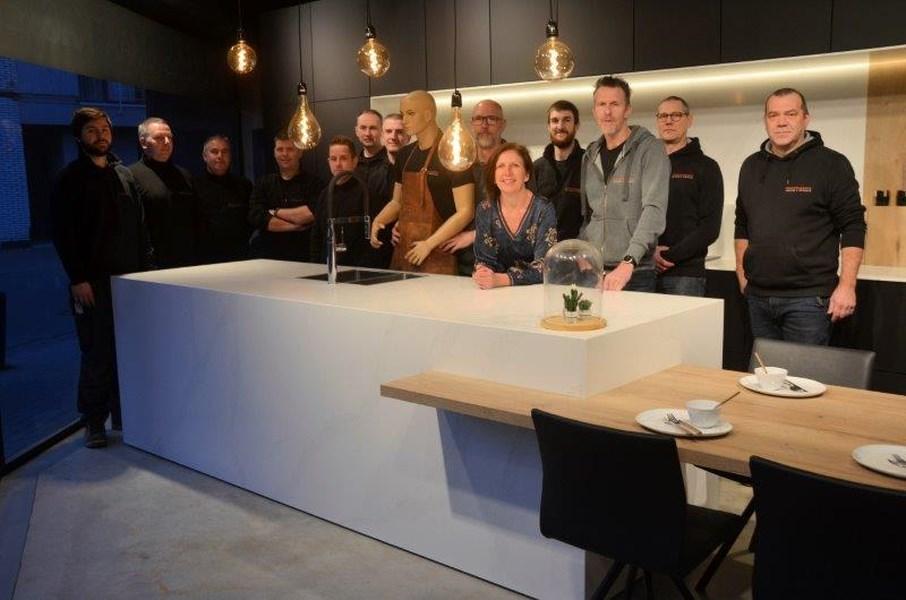 Foto Personeel Ontbijt In Nieuwe Toonzaal Londerzeel Het Nieuwsblad Mobile