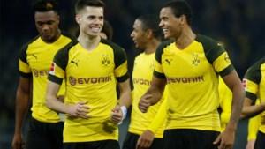 Borussia Dortmund wint na vijf wedstrijden eindelijk nog eens, rode kaart voor Mangala nekt Hamburg
