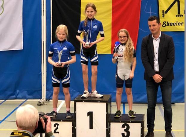 Tiense skeelerclub rondt indoorseizoen af met medaille