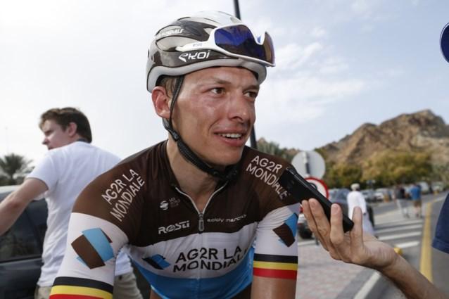 """Oliver Naesen voert AG2R aan tijdens Omloop Het Nieuwsblad: """"Ik ben gretig om een klassieker te winnen"""""""