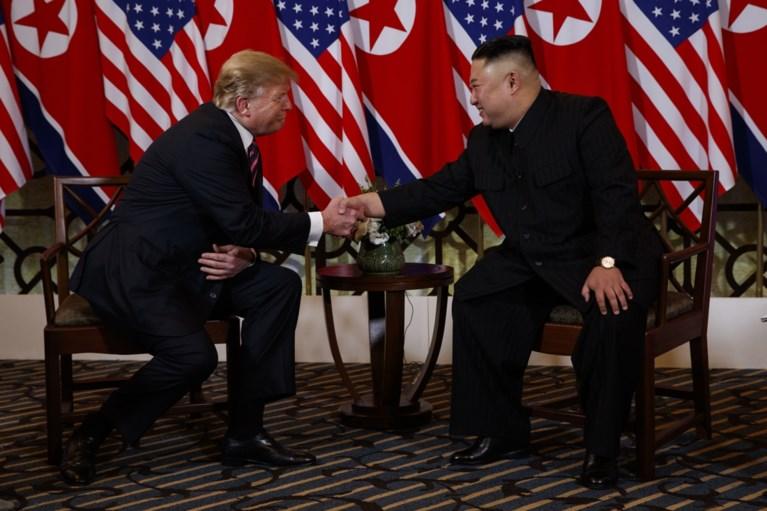 """Eerste dag van ontmoeting tussen Donald Trump en Kim Jong-un zit erop: """"Alle vertrouwen in dat het succesvolle top wordt"""""""