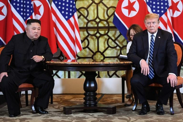 """Top tussen Trump en Kim Jong-un abrupt gestopt: """"Noord-Korea wilde alle sancties weg. Dat konden we niet doen, maar we zijn nog steeds vrienden"""""""