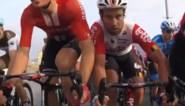Straffe beelden vanop fiets tonen helse job van lead-out voor sprinter Caleb Ewan: wringen in de kleinste gaatjes