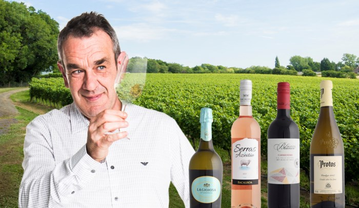 Onze wijnkenner Alain Bloeykens proeft vier lentefrisse wijnen uit evenveel verschillende landen