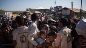 """Bangladesh """"niet langer in staat om Rohingya-vluchtelingen op te vangen"""""""