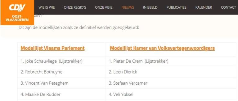 Maandag nog voorgesteld op CD&V-lijst, maar Kamerlid Veli Yüksel stapt over naar Open VLD
