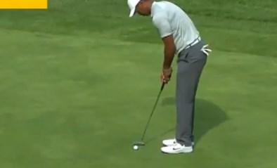 Van wereldklasse op de ene naar grote flaters op de andere dag: Tiger Woods kon het zelf amper geloven