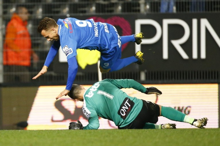 Genk kan ook tegen Charleroi niet winnen en wacht bang af wat Club Brugge doet