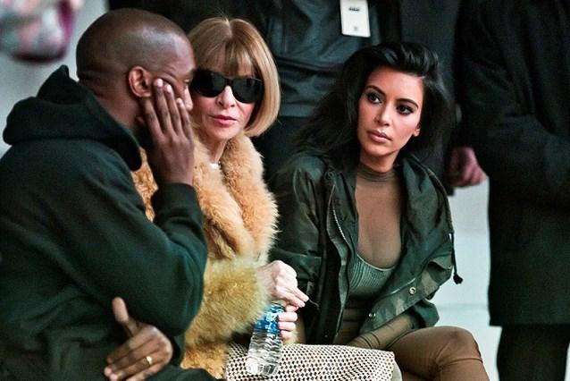 Anna Wintour is blij dat Kim Kardashian meer kleren aandoet