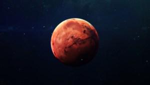 Mars had ooit een grondwatersysteem