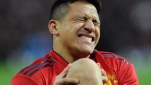 Manchester United moet Alexis Sanchez zes tot acht weken missen