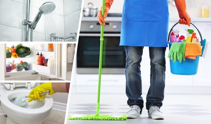 """Hoe vaak moet je koelkast, douche en lakens echt schoonmaken? """"Er is één fout die we allemaal maken"""""""