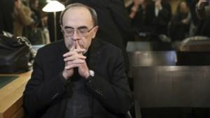 Gevangenisstraf voor Franse kardinaal die seksueel misbruik niet aanklaagde
