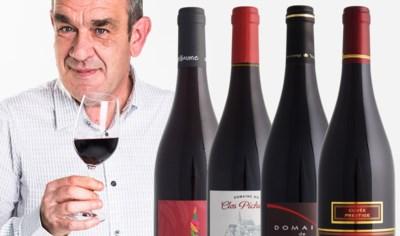 Onze wijnkenner Alain Bloeykens proeft rode wijn uit de koelkast