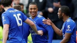 Youri Tielemans scoort eerste doelpunt voor Leicester City, Michy Batshuayi en Christian Benteke met Crystal Palace onderuit tegen Brighton