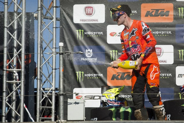 Jeffrey Herlings zet nu al streep door wereldtitel motorcross