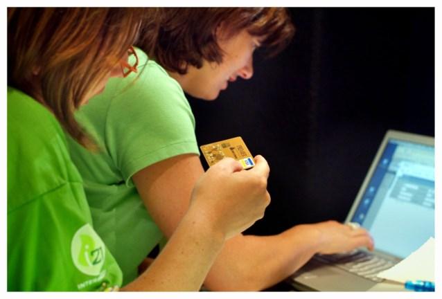 We kopen alles online, behalve ons eten