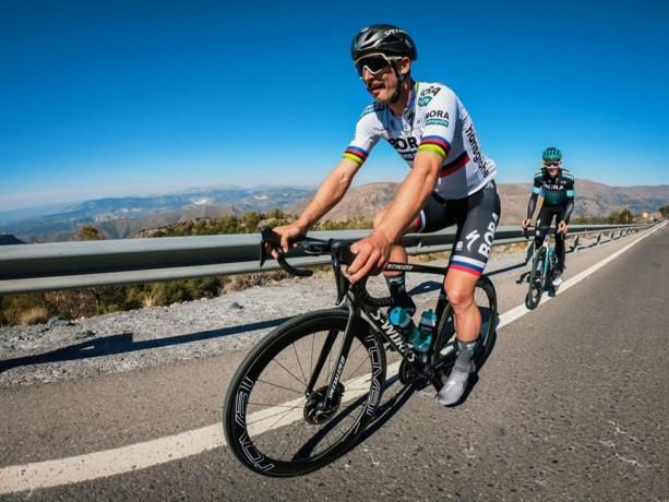 Peter Sagan vier kilo lichter na zware buikgriep