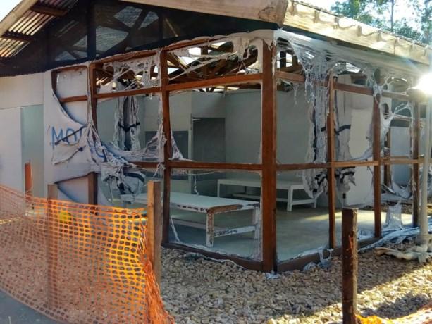 Opnieuw ebolacentrum in Congo platgebrand