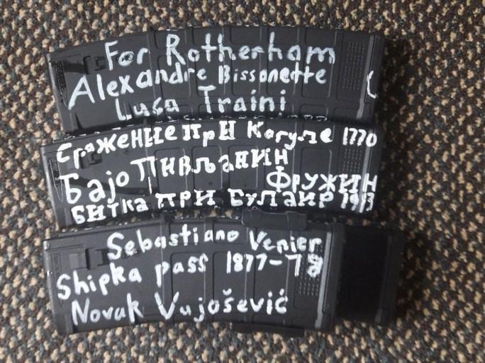 Schutter Nieuw-Zeeland had wapens vol met historische verwijzingen bekrabbeld: dit stond er allemaal op