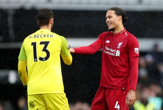 """""""Hij is dan toch een mens"""": Liverpool ontsnapt na zeldzaam foutje Virgil van Dijk"""