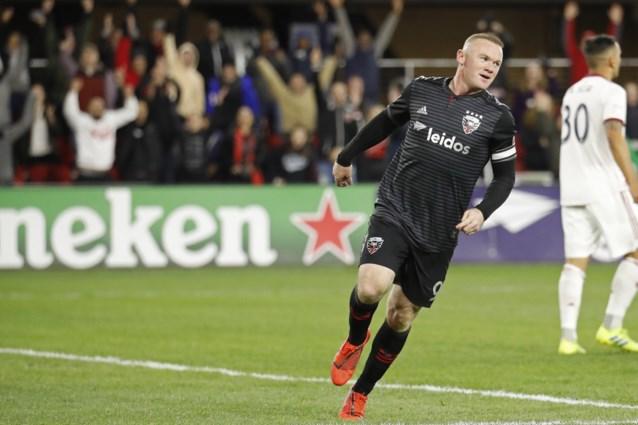 """Wayne Rooney scoort eerste hattrick in MLS: """"Altijd prettig"""""""