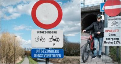 """174 euro boete om met speed pedelec in verboden richting te fietsen: """"Ik kreeg te horen dat de wet de wet is"""""""