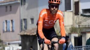 """COLUMN. Laurens ten Dam over zijn eerste La Primavera: """"Timen, dat is waar het om draait. En ik kom daar pas na 290 km achter"""""""