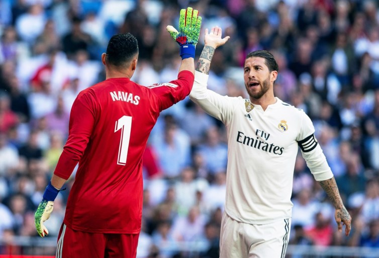 Zidane zet Courtois meteen op de bank bij Real Madrid, concurrent Navas houdt de nul