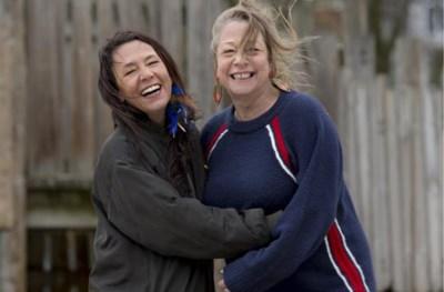 Slongs en Patsy: twee vrijgevochten dames, met elkaar en voor het leven verbonden door een Antwerps volkscafé