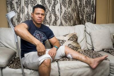 """Manuel (42) zit helemaal aan de grond sinds 22/3: """"Geef gewoon toe dat we niets zullen krijgen. Dan kan ik voort met mijn leven"""""""