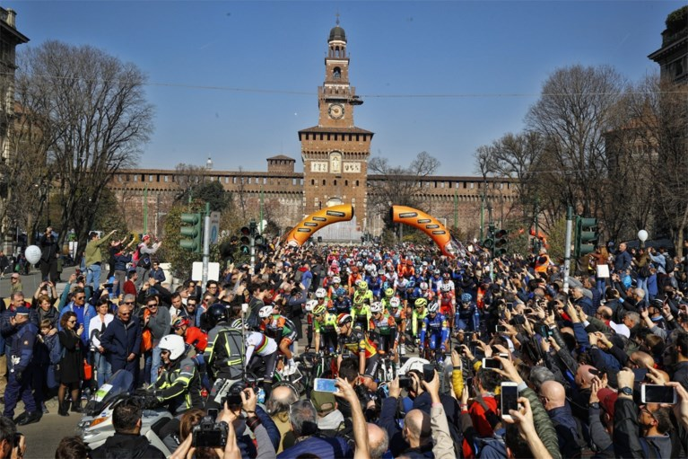 Julian Alaphilippe wint als topfavoriet Milaan-Sanremo, Naesen spurt naar tweede plaats en ook Van Aert maakt indruk