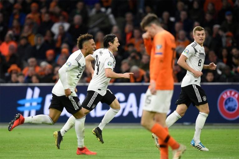 En op het einde winnen de Duitsers: Nederland slikt zure nederlaag in 90e minuut