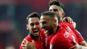 Turkije wint ruim in EK-kwalificatiecampagne: Moldavië uitgeteld na drie dolle minuten