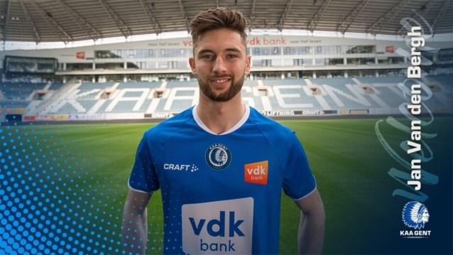 """AA Gent presenteert Jan Van Den Bergh: """"Hier moet ik me terug volop bewijzen"""""""