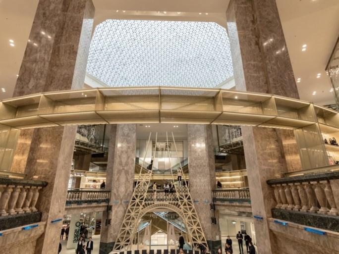 Een kijkje in de gloednieuwe winkel van Galeries Lafayette in Parijs