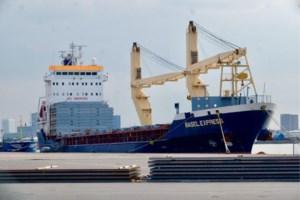 """Schip aan de ketting in Antwerpse haven: """"Het eten is rot en de kapitein is gevlucht"""""""