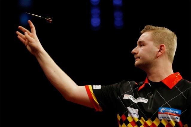 Net geen achtste finale voor Dimitri Van den Bergh in German Darts Championship