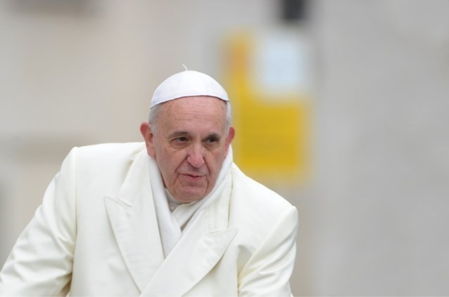 Koor van mensen dementie uit Bonheiden zingt voor de paus