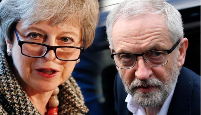 """""""May kreeg niet eens Corbyns naam over haar lippen, hoe kunnen ze ooit een deal sluiten?"""""""