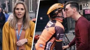 """Ine Beyen volgt de Ronde met de vriend van Jolien D'Hoore: """"Ik zie het aan haar rode wangetjes"""""""