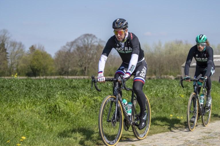 Voor de techneuten: met deze speciale fiets (mét schijfremmen) start Sagan in Parijs-Roubaix