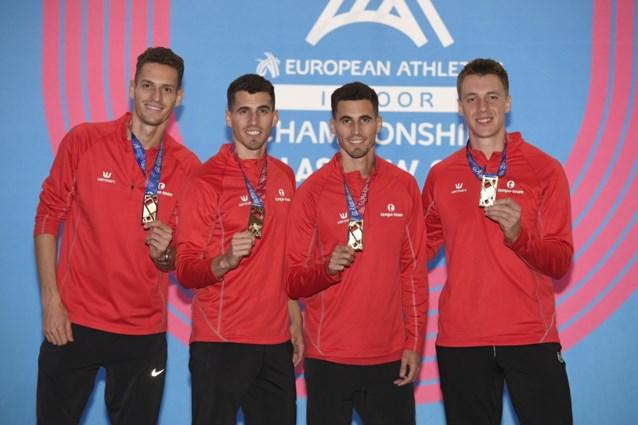 Vier broers Borlée lopen zaterdag in San Diego voor het eerst samen de 4x400 meter