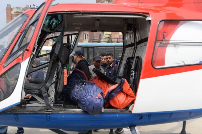 Twee doden bij vliegtuigongeval bij Mount Everest
